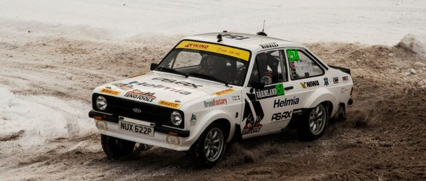 Solberg Rallye de Suède Historique 2015