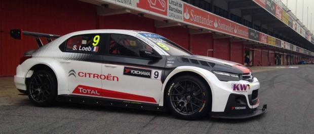 Sébastien Loeb, meilleur temps des essais de Barcelone - WTCC 2015