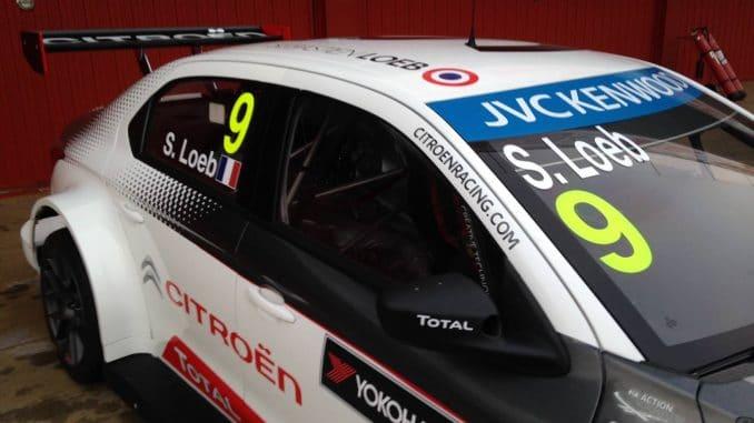 WTCC 2015 - Sébastien Loeb et sa C-Elysée version 2015