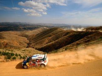 Parcours Rallye du Mexique 2017