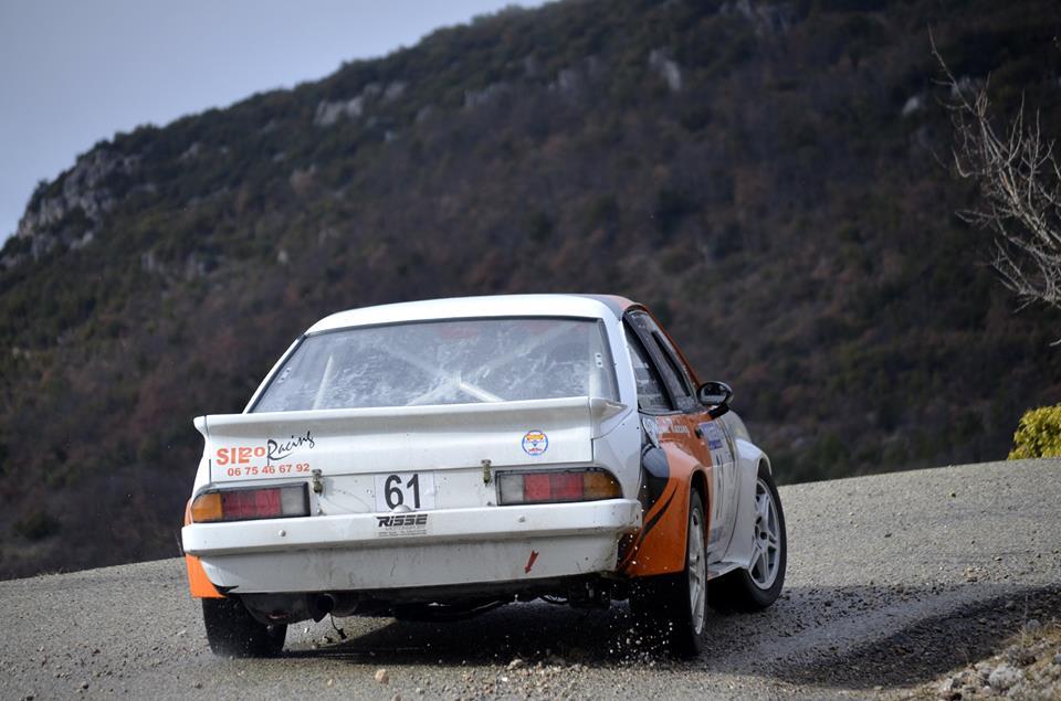 Rallye de Vaison 2015 : Opel Mantta de Denis Hugues