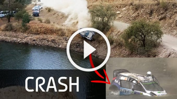 Crash Ott Tanak - Rallye Mexique 2015
