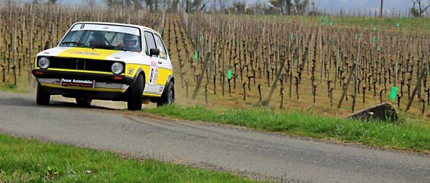 Rallye Bordeaux Aquitaine Classic 2015 : Vernet. Golf