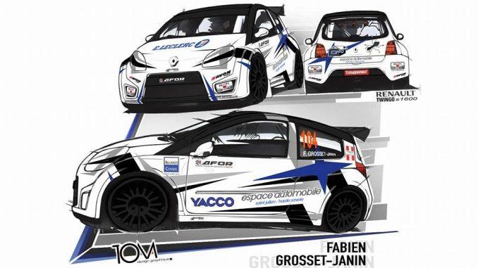 Fabien Grosset Janin twingo S1600