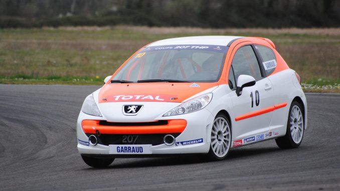 Rencontres Peugeot Sport Clement Garraud 207 Débuter en circuit