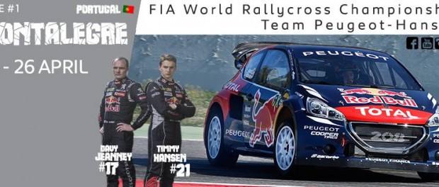 World RX 2015 : Team Peugeot Hansen
