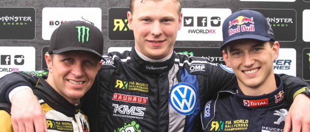 World RX Montalegre 2015 Podium Solberg Kristoffersson Hansen