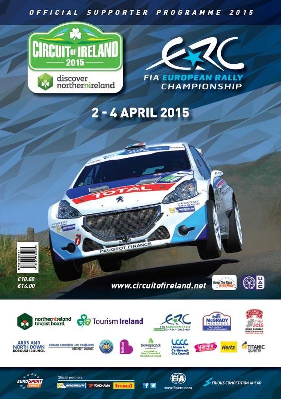 rallye irlande 2015 ERC
