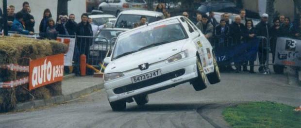 Cédric Delage 306 2 roues fronton 2002