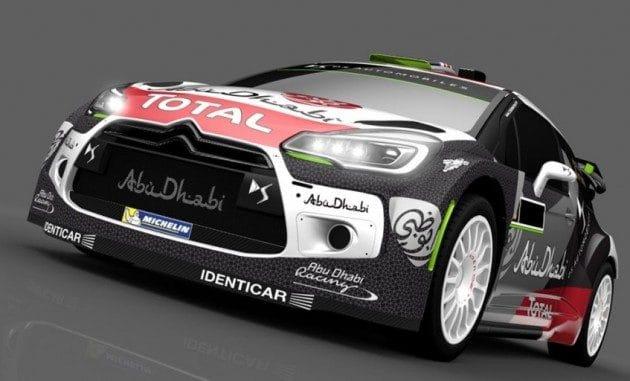 Nouvelle déco DS 3 WRC 2015
