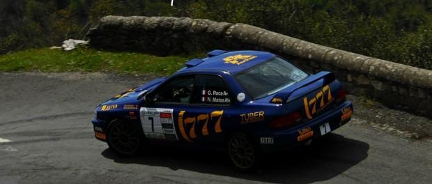 Rallye de Lozere 2015 - Gilles Roca vainqueur