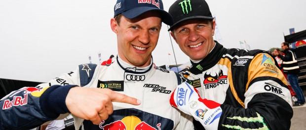 RallyCross Lydden Hill 2015 : M. Ekstrom et P. Solberg