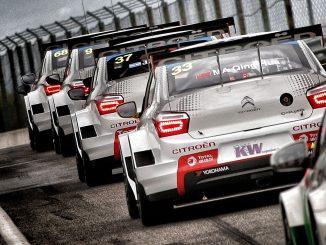WTCC Hongrie 201R Citroen Racing