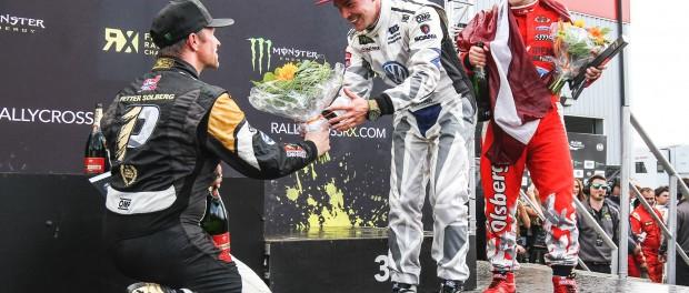 World RX Mettet 2015 podium