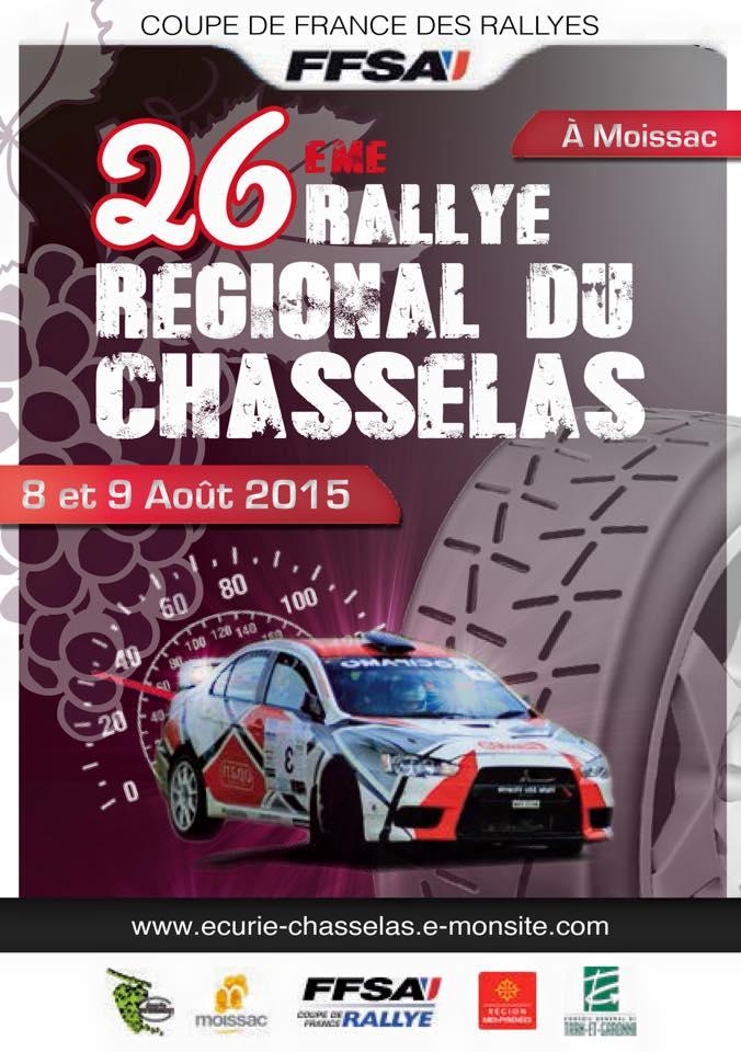 Affiche Rallye Chasselas 2015