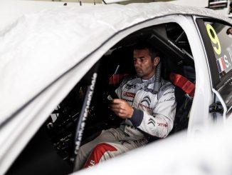 Loeb en Pole au Castellet