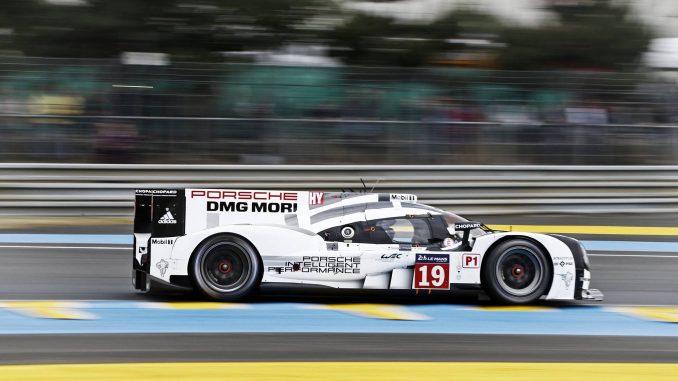 La Porsche 919 #19 gagne les 24 Heures du Mans 2015