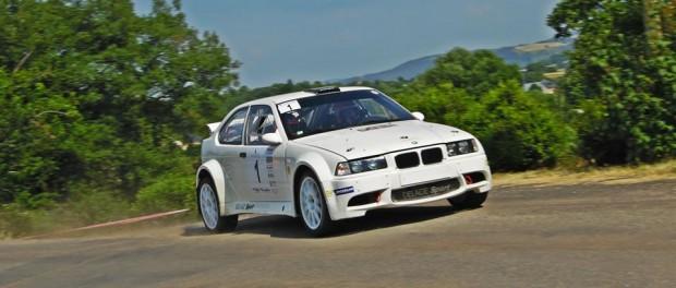 Rallye de Saint-Geniez 2015 Marty BMW