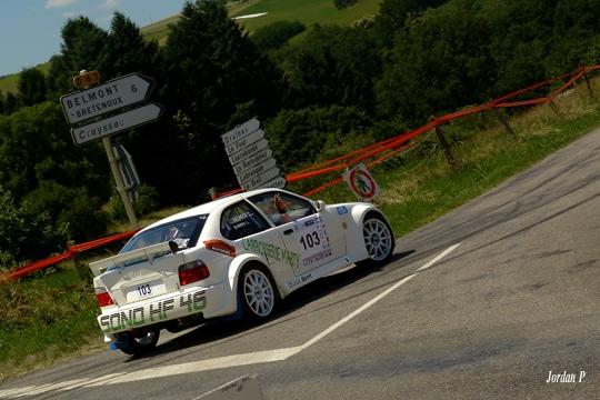 Rallye régional 3 chateaux 2015 Marty