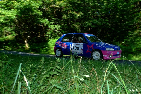 Rallye régional 3 chateaux 2015 Vergnes