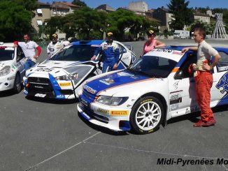podium Rallye du Sidobre 2015