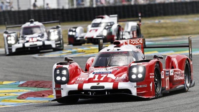 2e place pour la Porsche 919 hybrid #17 Le Mans 2015