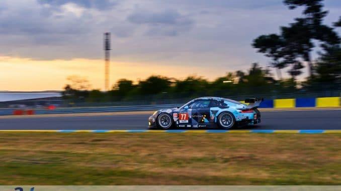 La Porsche de Patrick Dempsey 2ème en GTE Am - Le mans 2015