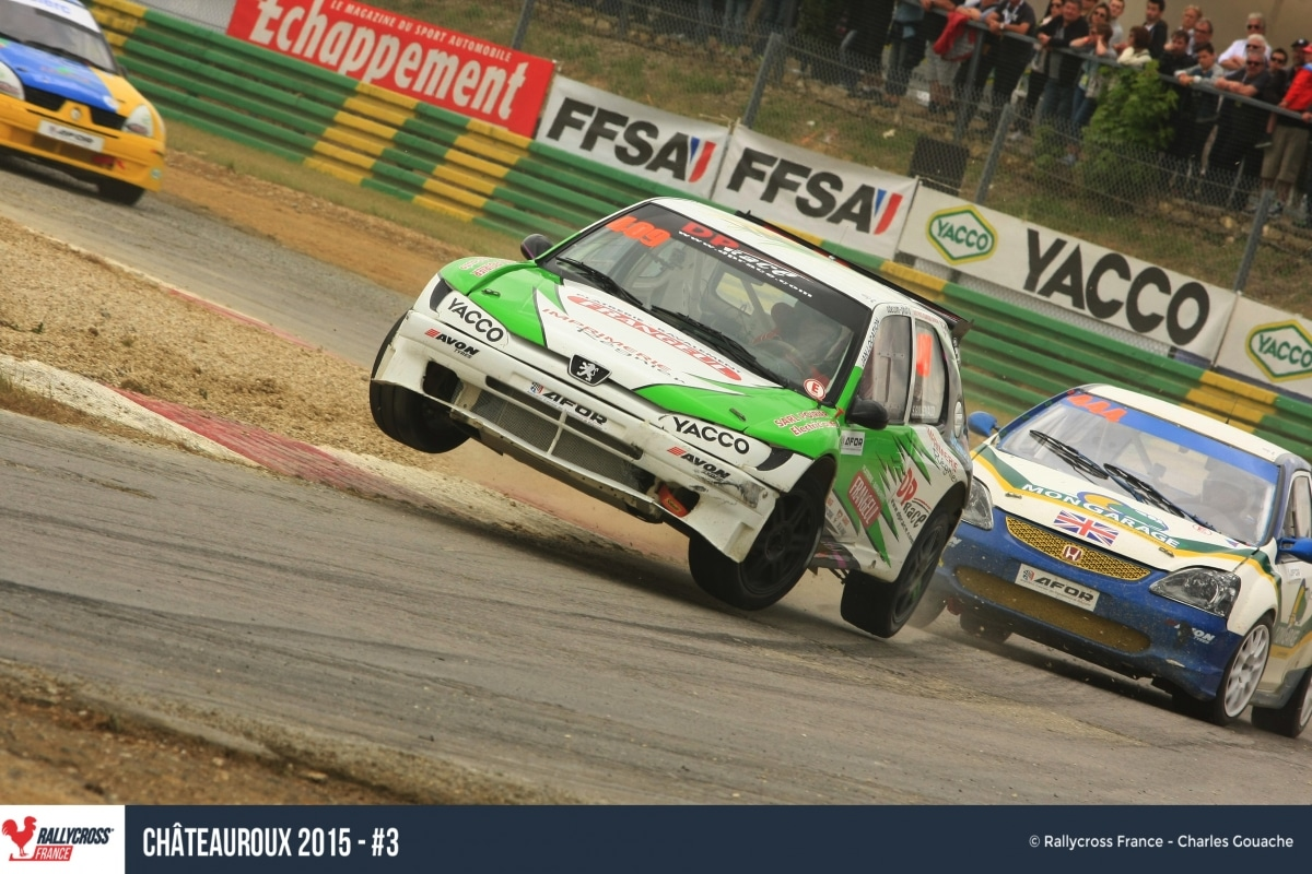 rallycross chateauroux 2015 pilote de course. Black Bedroom Furniture Sets. Home Design Ideas