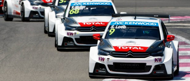 wtcc france 2015 Loeb domine