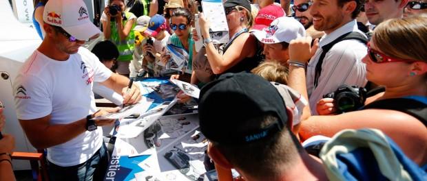 wtcc france 2015 foule pour Loeb