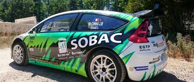 C4 WRC Rouergue 2015