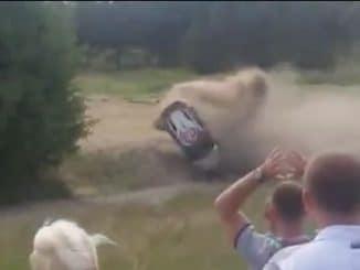 Crash Meeke Rallye Pologne 2015