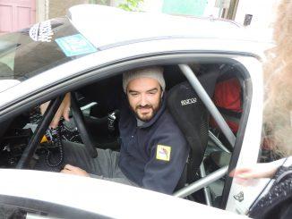 présentation : rallye rouergue 2015 Cyril Lignac accidenté