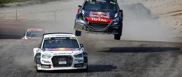 RallyCross Holjes 2015 Ekstrom Hansen