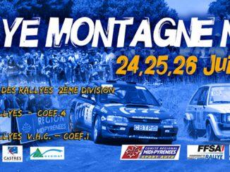 Rallye Montagne Noire 2015 présentation