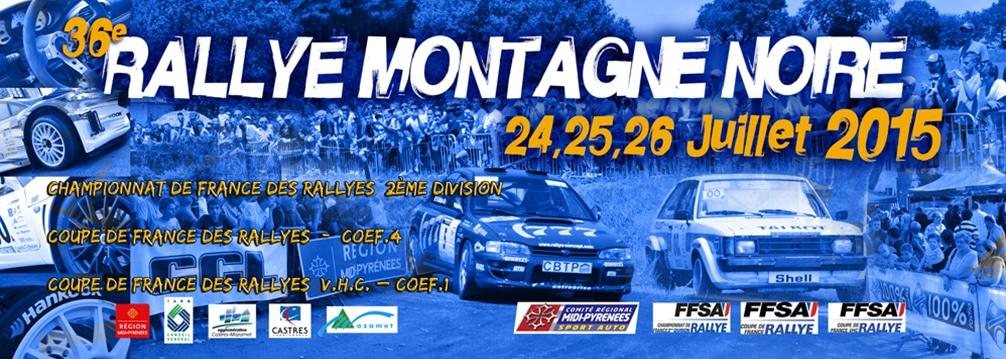 Rallye montagne noire 2015 pr sentation pilote de course - Calendrier coupe de france des rallyes ...