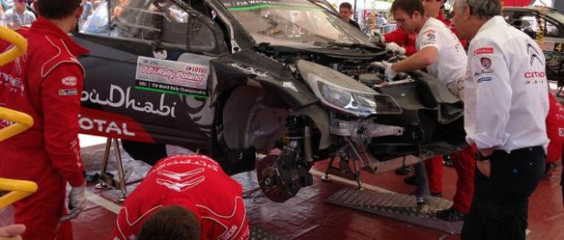 Crash Kriss Meeke Rallye Pologne 2015