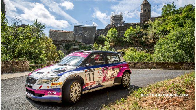 Rallye Montagne Noire 2015 A. Puppo