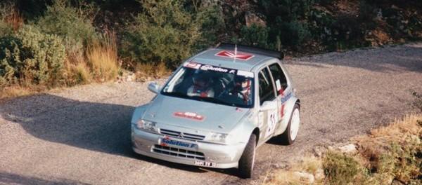 Karine Taboné et Chrisitine Driano Rallye du Var 1997