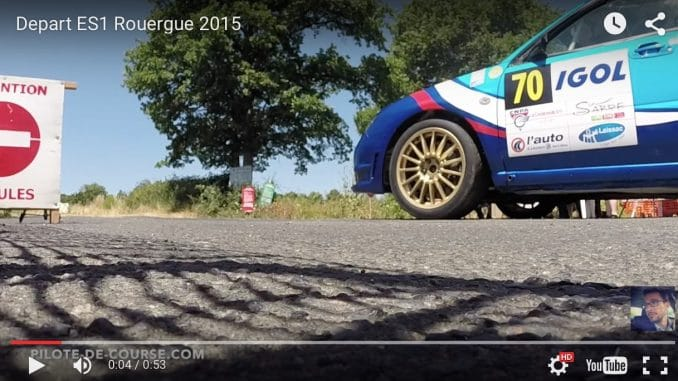 Le départ en Sport Auto