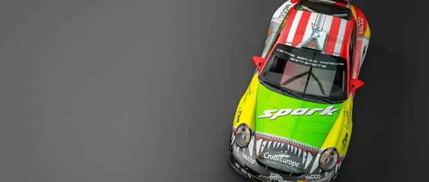 Porsche 911 Dumas Allemagne 2015 dessus