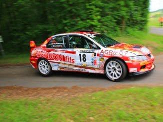 Frédéric Purrey liste des engagés Rallye du Médoc 2016