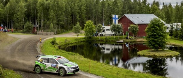 Rallye Finlande 2015 Lappi WRC2