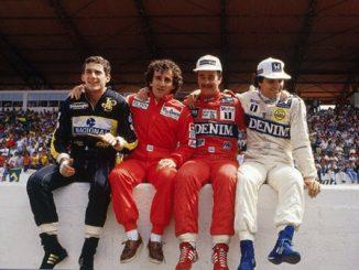 Senna Prost Mansell Piquet F1 : des pilotes d'exception
