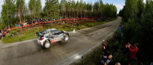 rallye finlande 2015 DS3