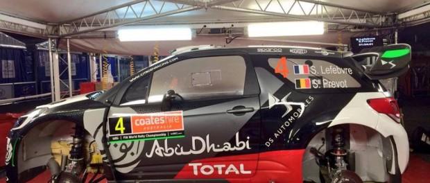 DS3 WRC Lefebvre Australie 2015