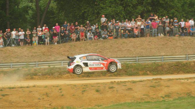 Julien Febreau pilote 208 WRX 2015