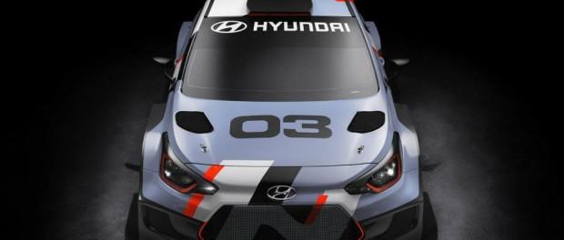 Nouvelle i20 WRC 2016 Avant