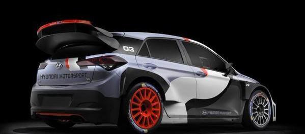 Nouvelle i20 WRC 2016 arrière
