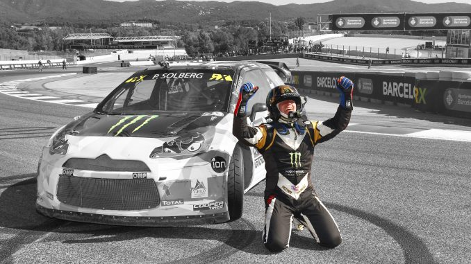 RallyCross Barcelone 2015 Petter Solberg